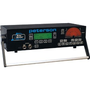 The Peterson Auto Strobe 490 electronic piano tuner