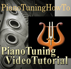 Piano tuning video tutorial