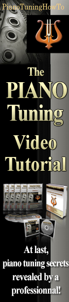 Learn how to tune your piano